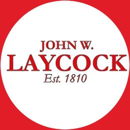 John W Laycock logo