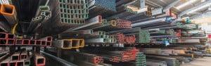 steel stock warehouse