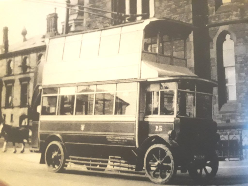 keighley old trolley bus