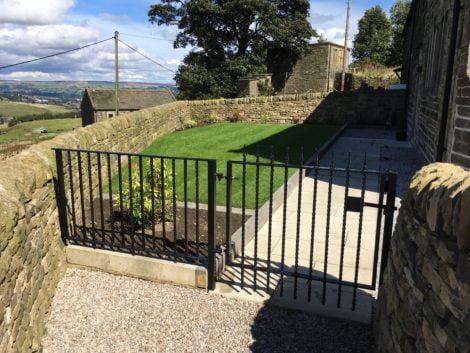 Haworth Railings - bespoke gate and railing