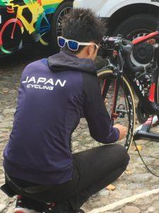 cyclist at ucl