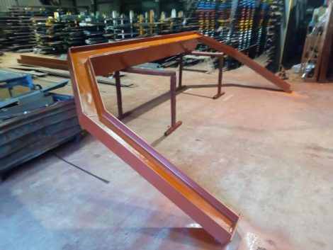 Manufacture of structural steel
